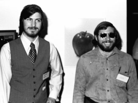 1977 Wozniak and Jobs
