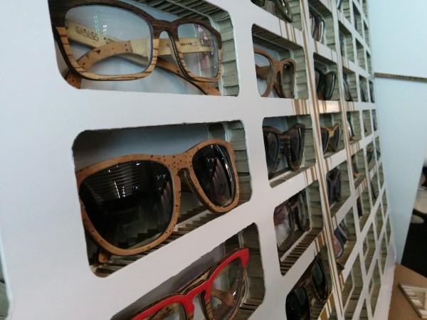 Vision Wood (Italy), cork and wood layered frames