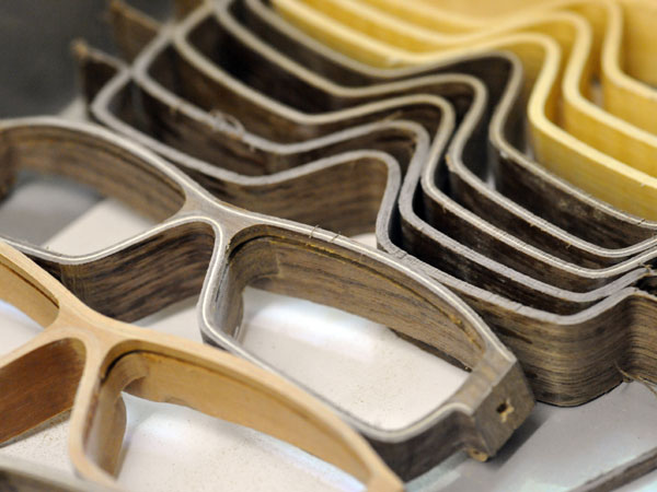 Herrlicht Wooden Wood Frame Glasses