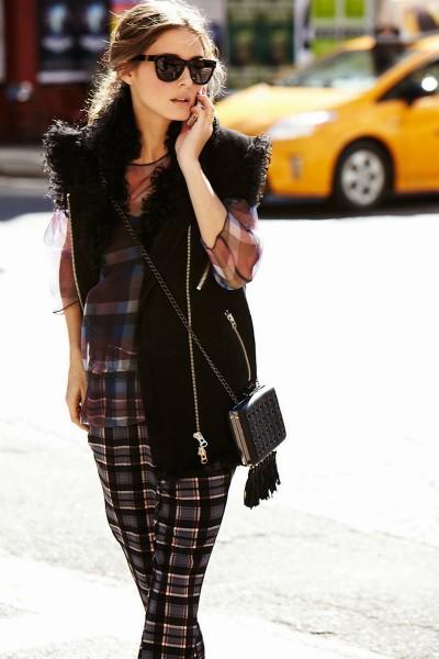 Olivia Palermo Street Style Sunglasses