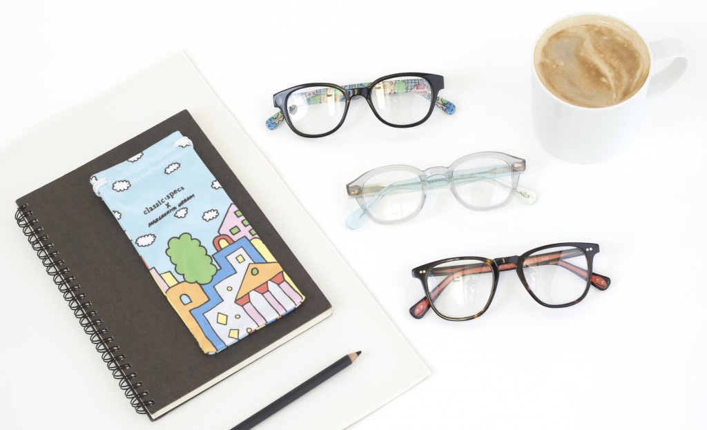 Leading Contemporary Artists Collaborate with Eyewear Brand Classic Specs