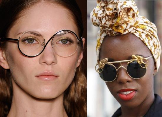 Arty 90's Eyewear Frames Trend