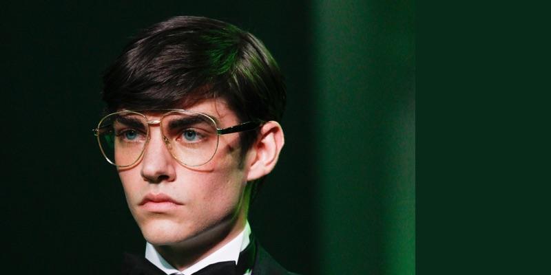 Designer Menswear Glasses Trend Spring 2017 Dior Homme