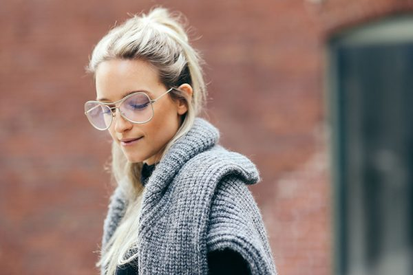 Nerd Alert: Everyone Stylish Is Wearing These Huge, Geeky Glasses