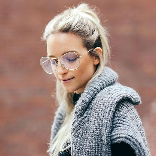 Nerd Alert: Everyone Stylish Is Wearing These Huge, Geeky Glasses
