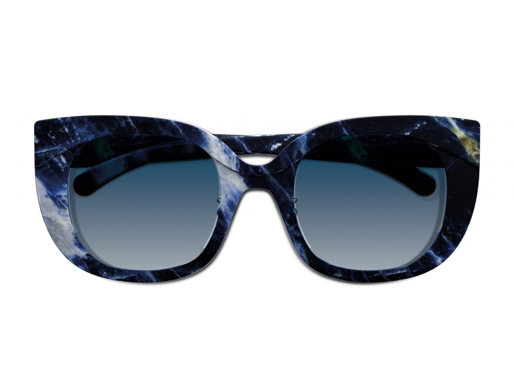 Revolutionary Marble Eyewear by BUDRI