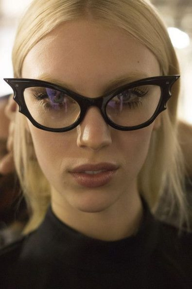Best Cat Eye Glasses From Street Style Celebrities To The