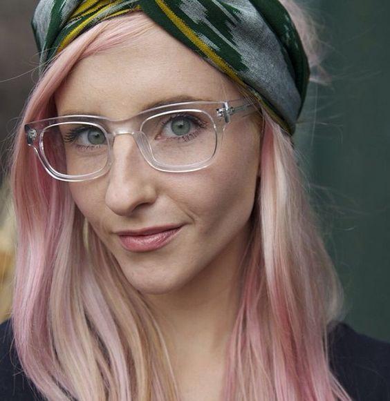 trendy oval glasses frames prescription eyeglasses rxable 47 transparent