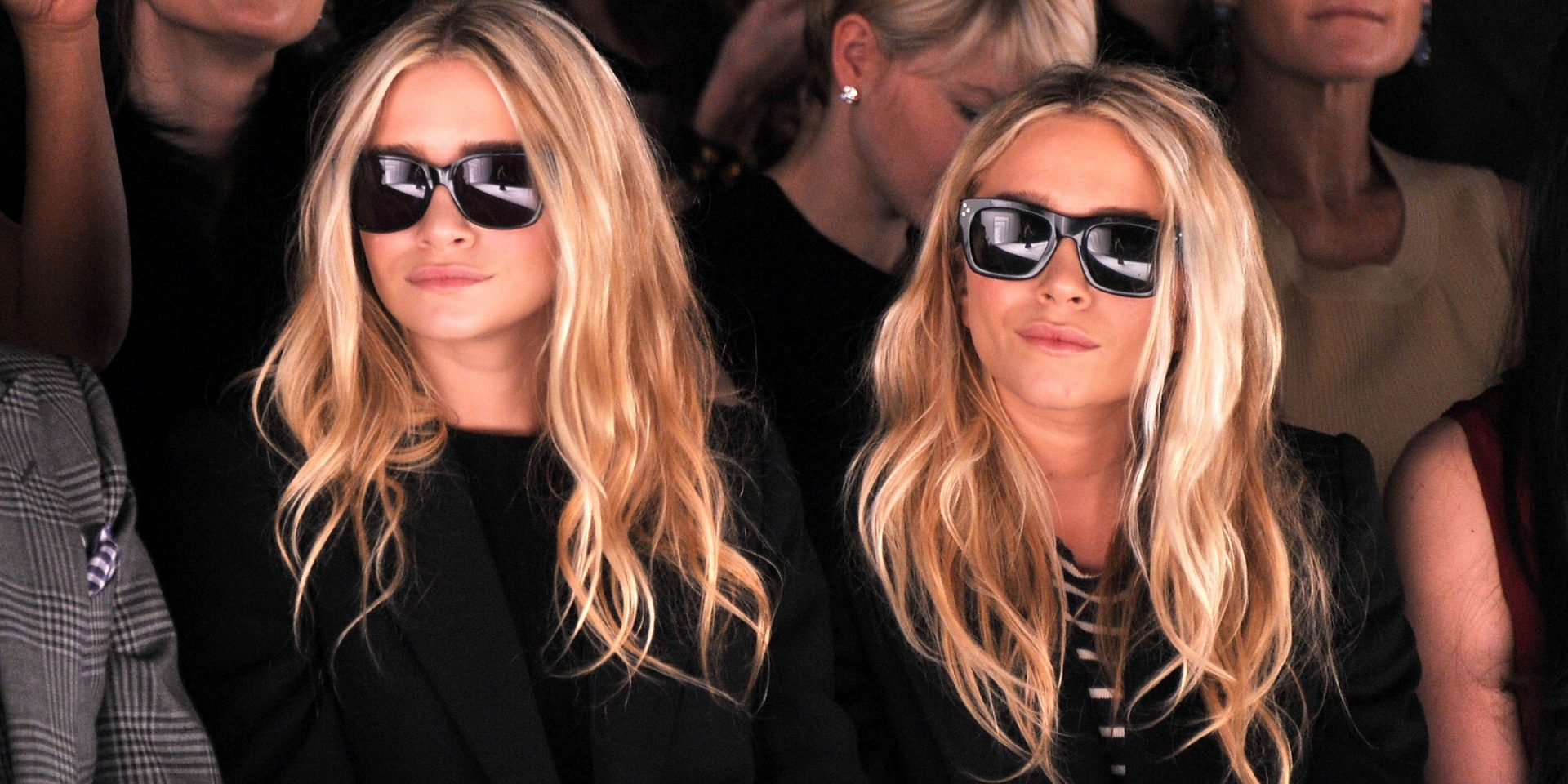 26aff00cd36 Mary Kate   Ashley Olsen Sunglasses Styles Over The Years