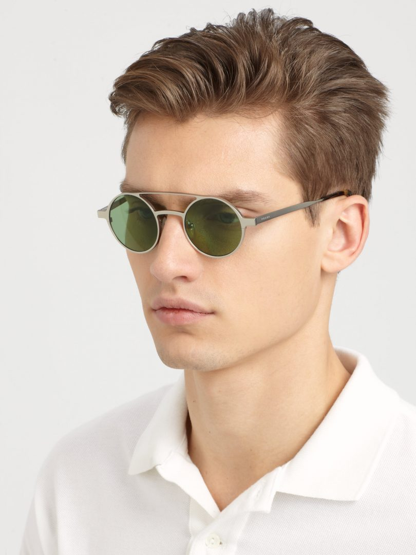 Round glasses - the trend of recent years 58