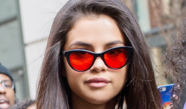 "Queen of Instagram, Selena Gomez spotted in Garrett Leight's ""Rouge"" Sunglasses"