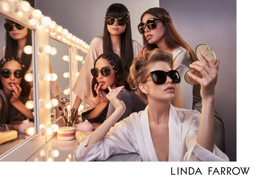 Linda Farrow 2017 Collection Inspired By Fashion Influencers Shop Online Glasses