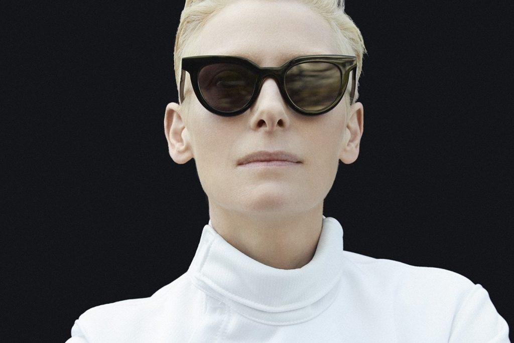 Tilda Swinton x Gentle Monster on Exclusive Eyewear Collection 2017