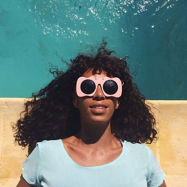 Solange Knowles wearing Craig & Karl x Le Specs 'Lost Weekend' sunglasses copy