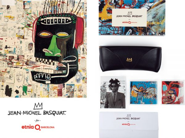 Etnia Barcelona Designer Artists Collaboration Glasses Eyewear Jean Michel Basquiat Collection