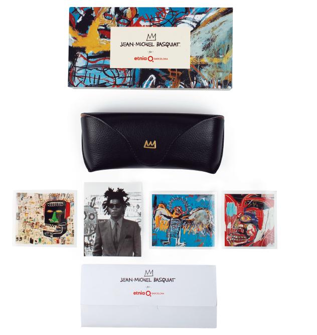 Etnia Barcelona Designer Artists Collaboration Glasses Eyewear Jean Michel Basquiat Collection