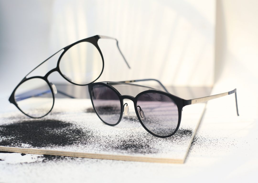 The Unique Material Used for BLACKFIN Eyewear Shop Italian Handmade Designer BlackFin