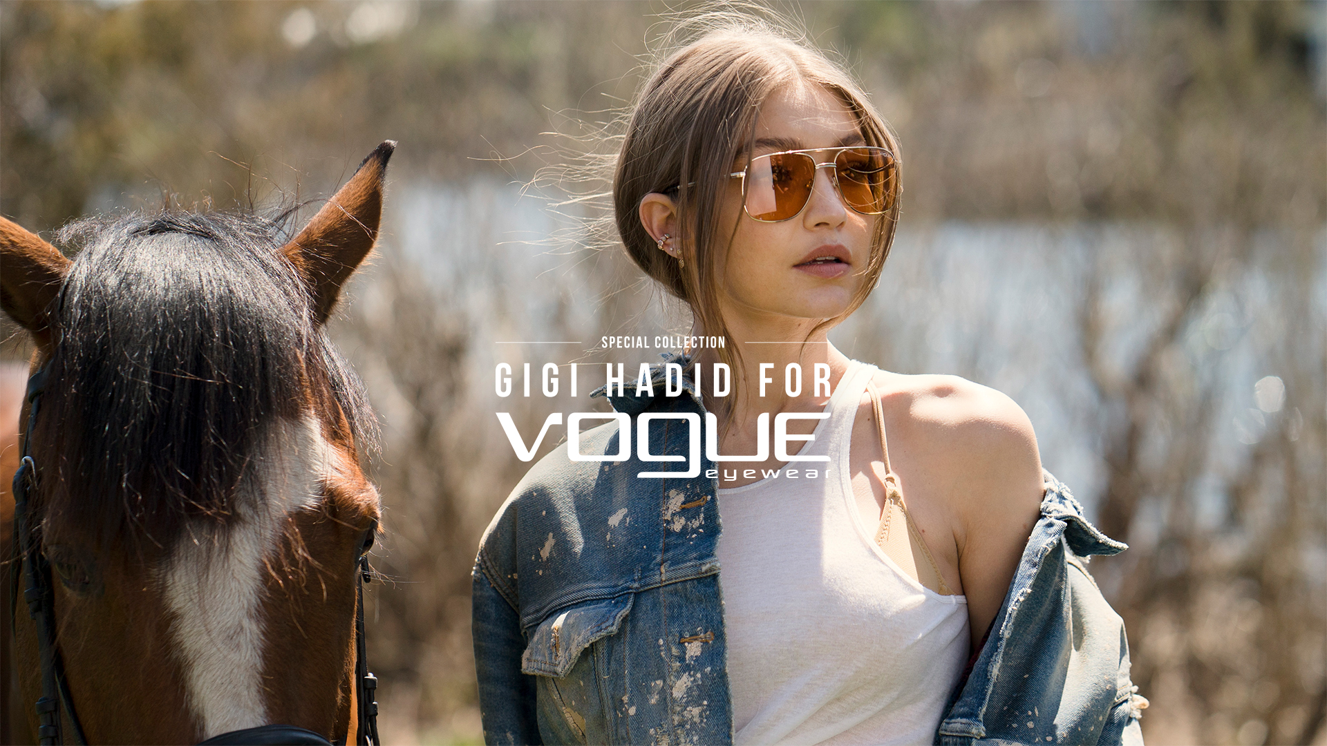 Gigi Hadid Collaborates with Vogue Eyewear For Capsule Collection Sunglasses Glasses