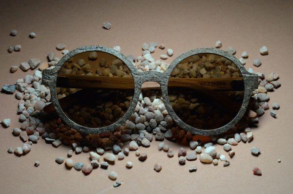Sustainable Stone Sunglasses Kickstarter Campaign by Wils Fabrik