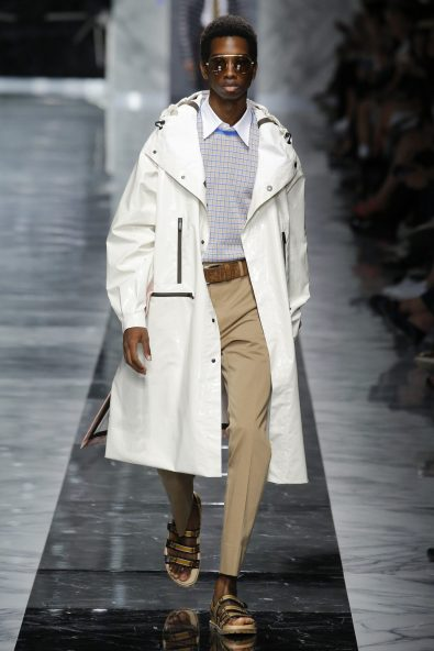 Men's Designer Glasses Trend Spotted on the Runway S/S 18