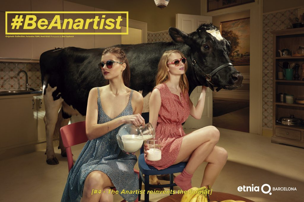 "Etnia Barcelona Introduces ""BE ANARTIST"" Eyeglasses Eyewear Glasses Frames Designer"