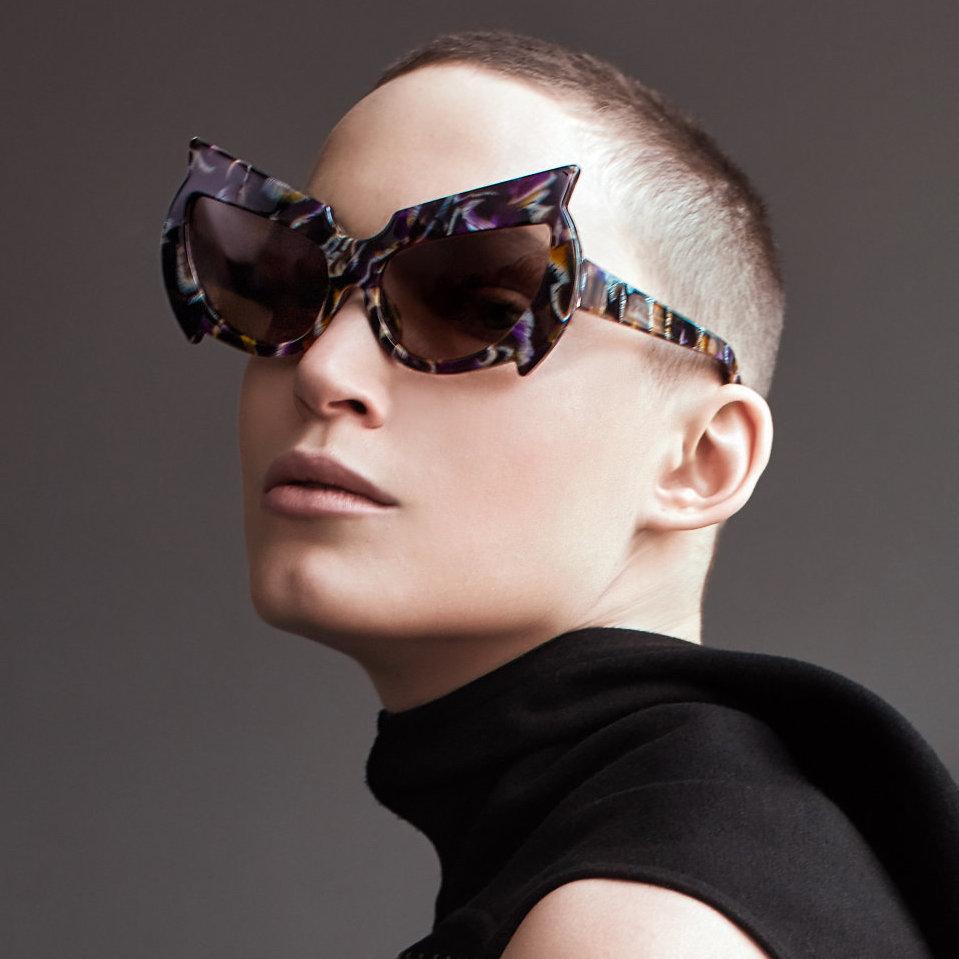 Shop Buy Online Black Mantis Model 1. Black Fakbyfak Eyewear Fakbyfak Sunglasses Fakoshima Eyewear Brand Avant Garde Designer Independent Designer