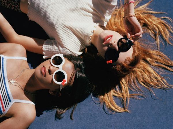 2017 Crap Eyewear Hello Kitty Sanrio Sunglasses Love Tempo Hanoi Weekend LA Beach Glasses