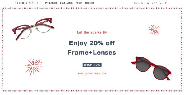 SmartBuyGlasses EyeBuyDirect 6 Best Websites to Buy Prescription Glasses Online Sale Buy Shop Shopping Online Sell Sale Trend Prescription
