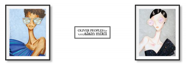OLIVER PEOPLES POUR ALAIN MIKLI Collaboration Designs Sunglasses Eyewear Glasses