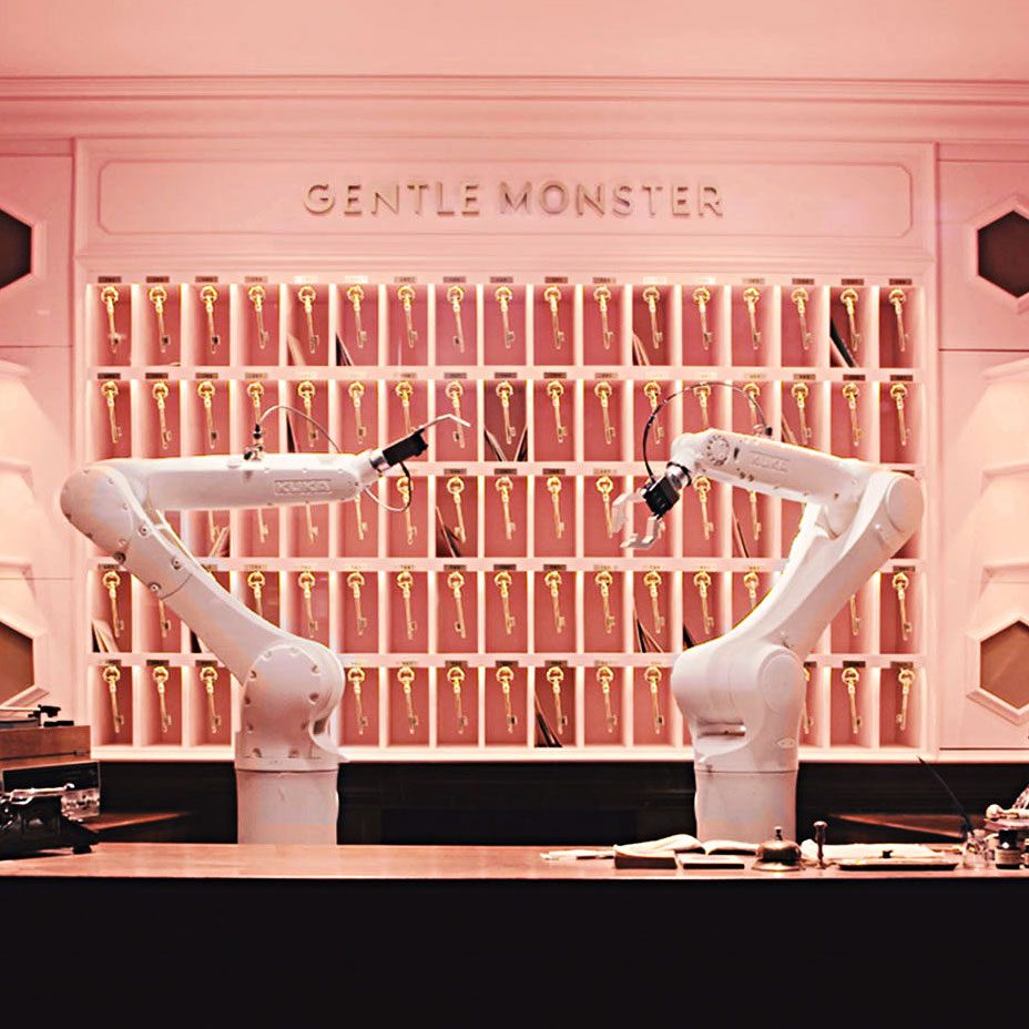 Gentle Monster Store Buy Online Korea Gentle Monster Shop Retail Shop Hong Kong 2017 New York China