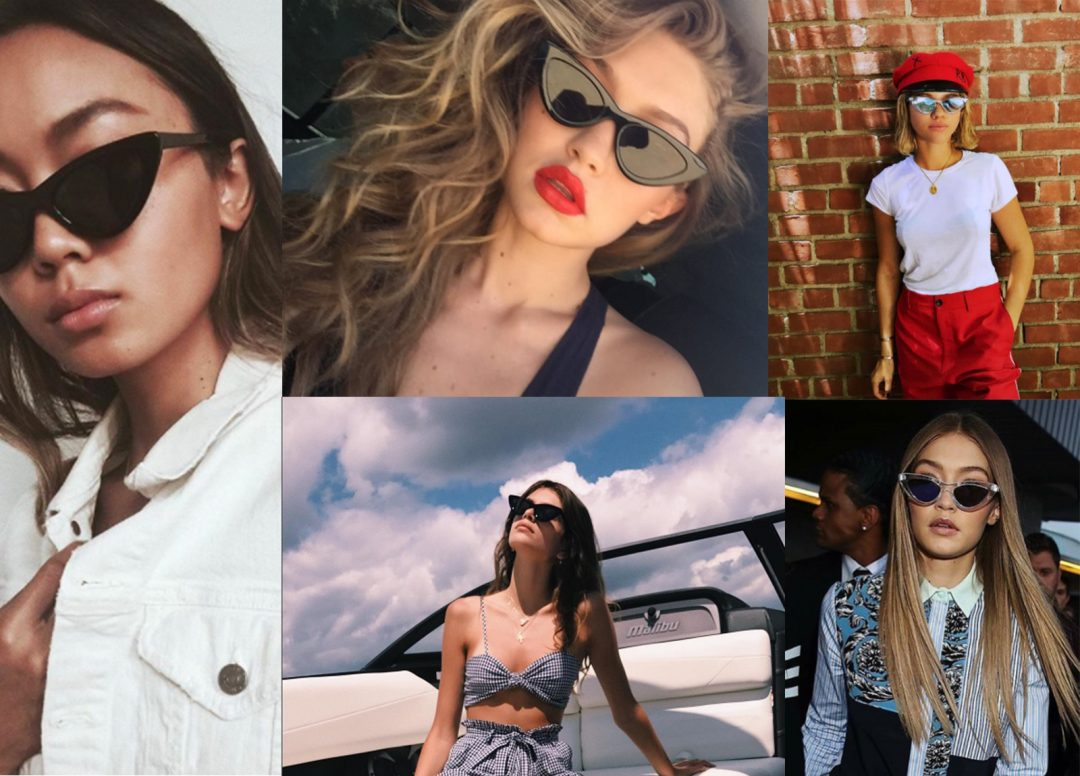 "Shop Online Trend Where to Buy The ""It"" Sunglasses Worn By Celebrities and Influencers Le Specs x Adam Selman"