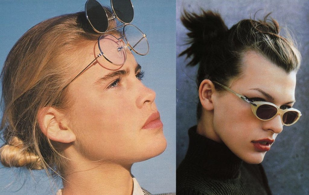 Eyewear Trend Alert The 90's are Back and We Have Pictures to Prove