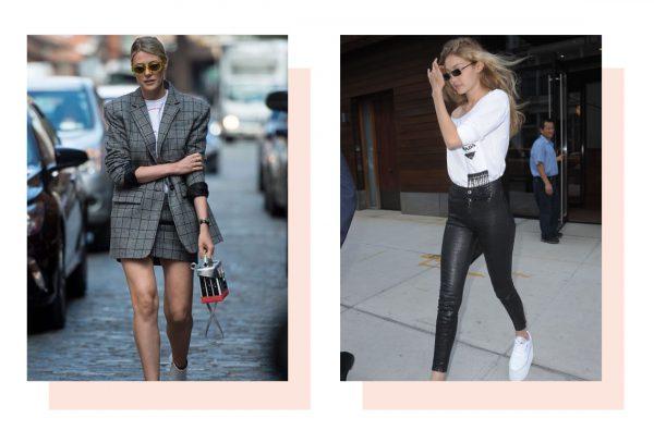 The Collaboration Between Linda Farrow and Dries Van Noten Everyone on Instagram Is Wearing Gigi Hadid Influencer Fashion