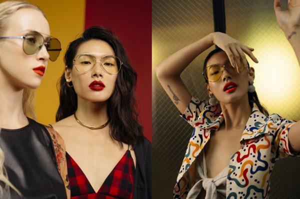 Limited Edition Sunglasses by SPEKTRE x Yun Yun Sun
