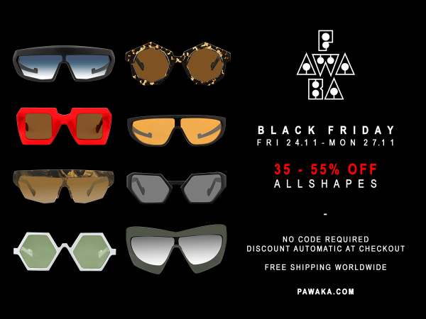 Pawaka The Best Black Friday Deals on Designer Glasses This Year Shop Online Sale Discount