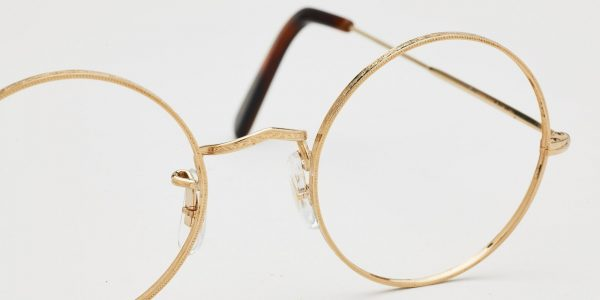 "Cubitts Introduces ""Algha"" Made to Measure 18kt Rolled Gold Spectacles"