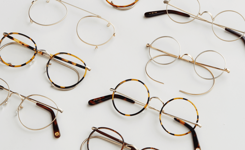 """Cubitts Introduces """"Algha"""" Made to Measure 18kt Rolled Gold Spectacles"""