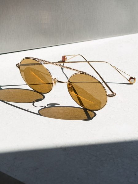 AHLEM Eyewear's Latest Signature Sunglasses with Engravings and Titanium Nose Pads