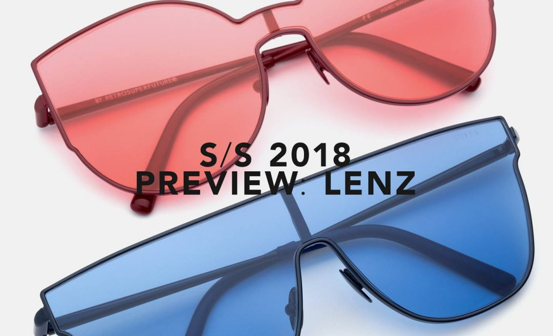 Retrosuperfuture Sunglasses Eyewear Latest SUPER SS18 PREVIEW: LENZ