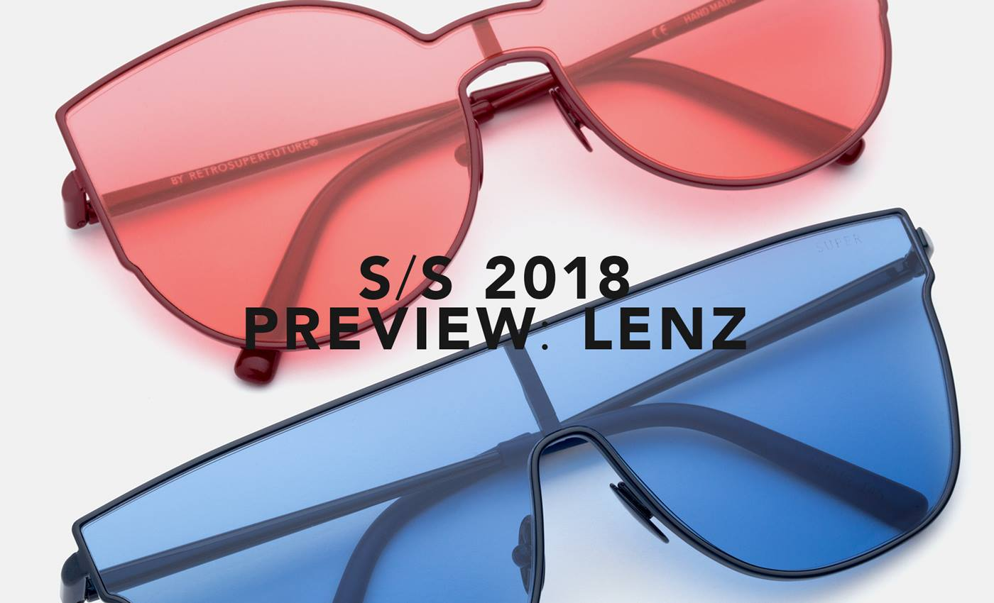 91d4b670c6adc The Latest SUPER SS18 Sunglasses Collection  LENZ