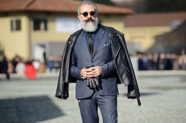 Eyewear Trends Spotted at Pitti Uomo Street Style AW18 Men Fashion Week Street Style