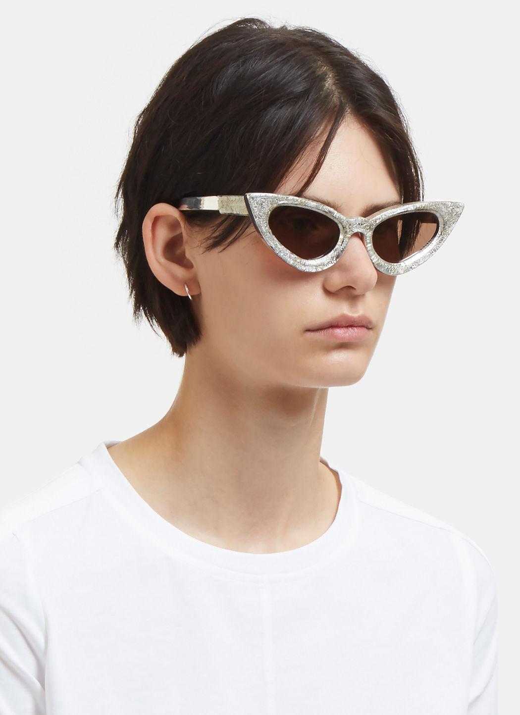 Buy Shop Glasses Sunglasses Online Cat Eye Eyeglasses Cateye Designer Fashion Trend kuboruam y3 mask