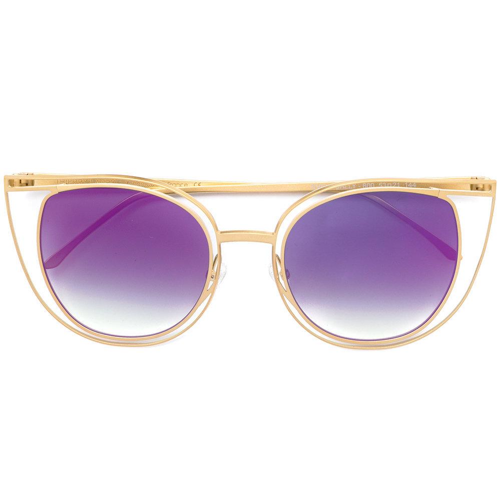 thierry lasry eventually Latest Sunglasses Trend Colour Purple Ultraviolent Style Trend Eyeglasses Eyewear Glasses Latest Best Mykita