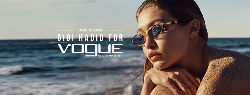 Gigi Hadid x Vogue Eyewear's Second Collaboration #ShowYourVogue 2018