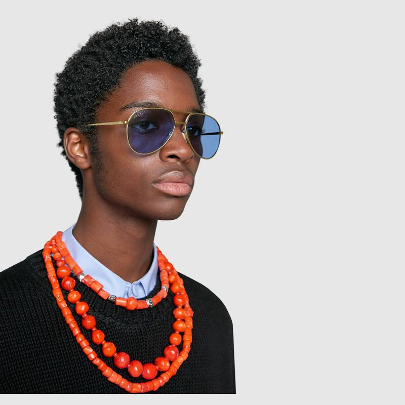 See Guccis' Spring Summer 2018 Eyewear Collection