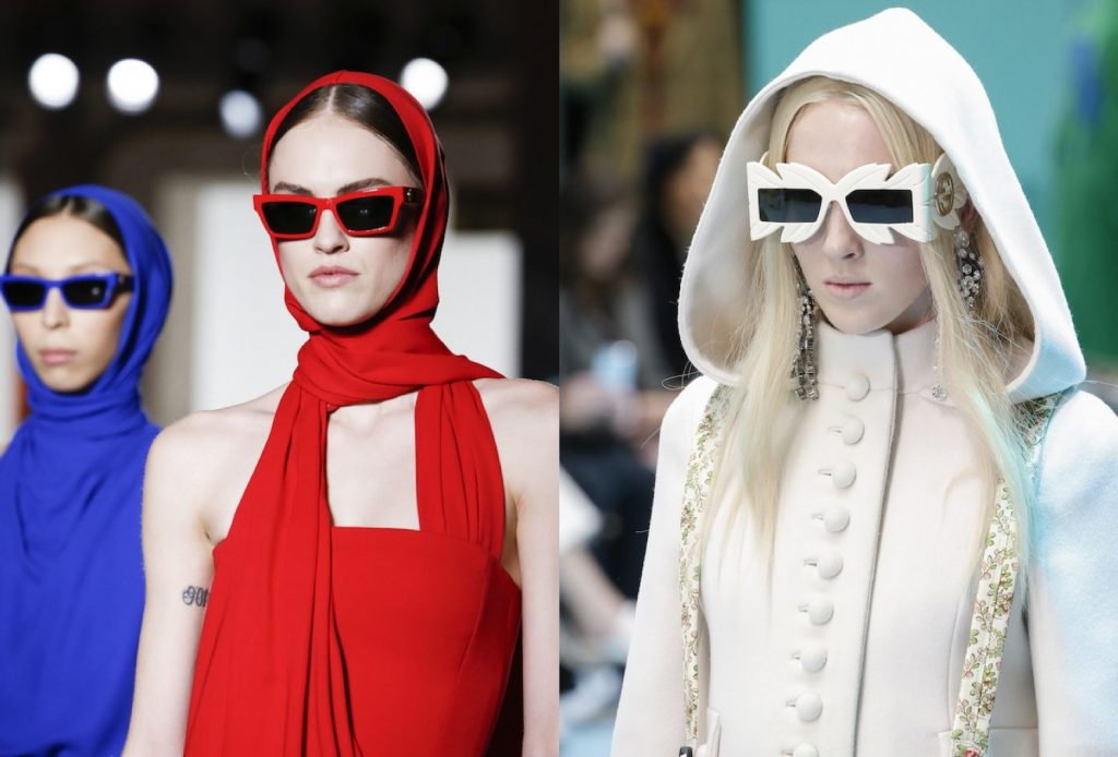 Eyewear Sunglasses Eyeglasses Trends Spotted at Paris Fashion Week Fall 2018 Runway Trend Spotting Runway Fashion
