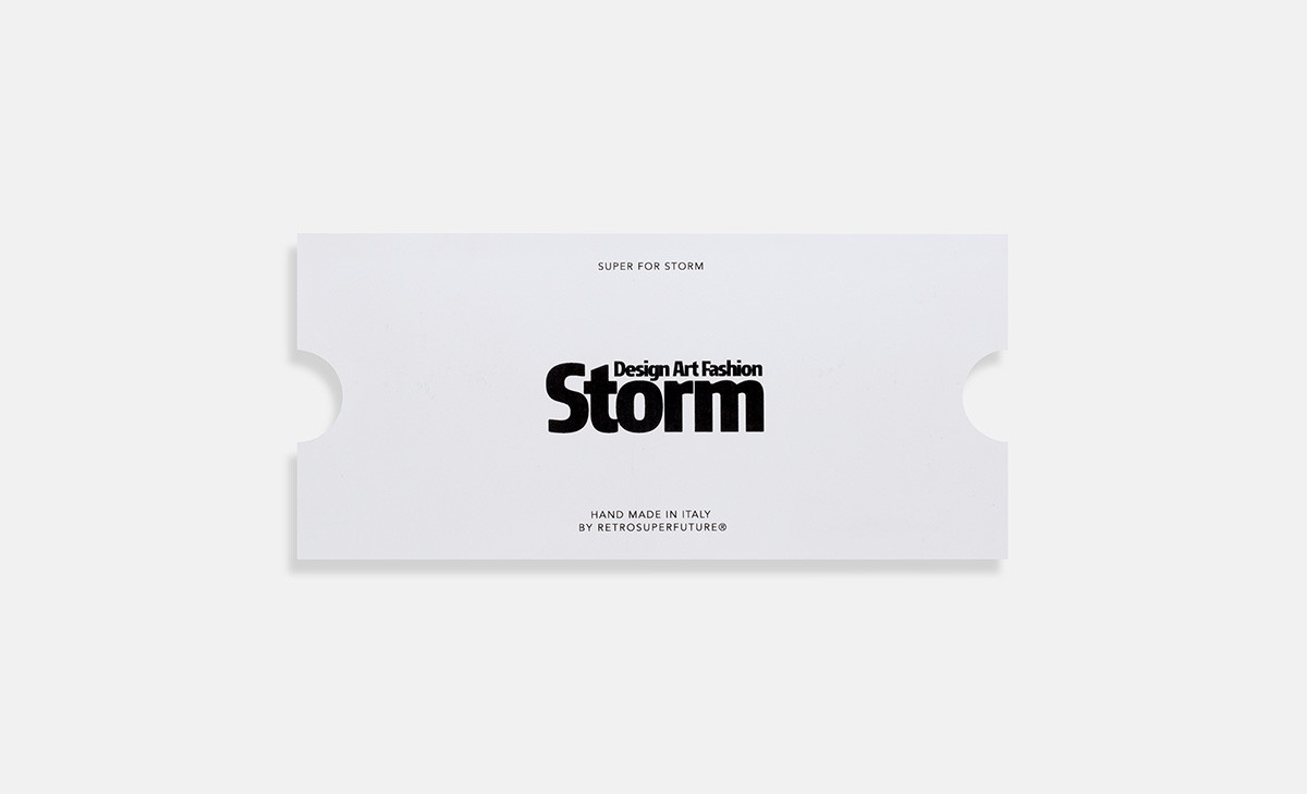 eaa73d5383f ... The Latest SUPER Sunglasses Collaboration with Retail Store Storm  Copenhagen Buy Shop Online