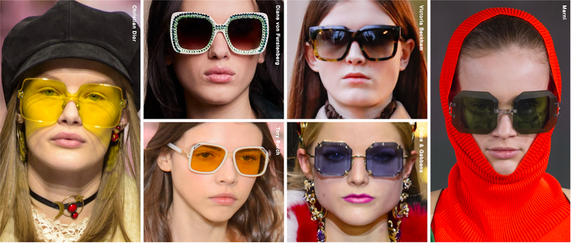 459cfc3a3ef6 12 Latest Fashion Trends for Women's Eyewear for A/W 2019 Shop Buy Designer  Cool