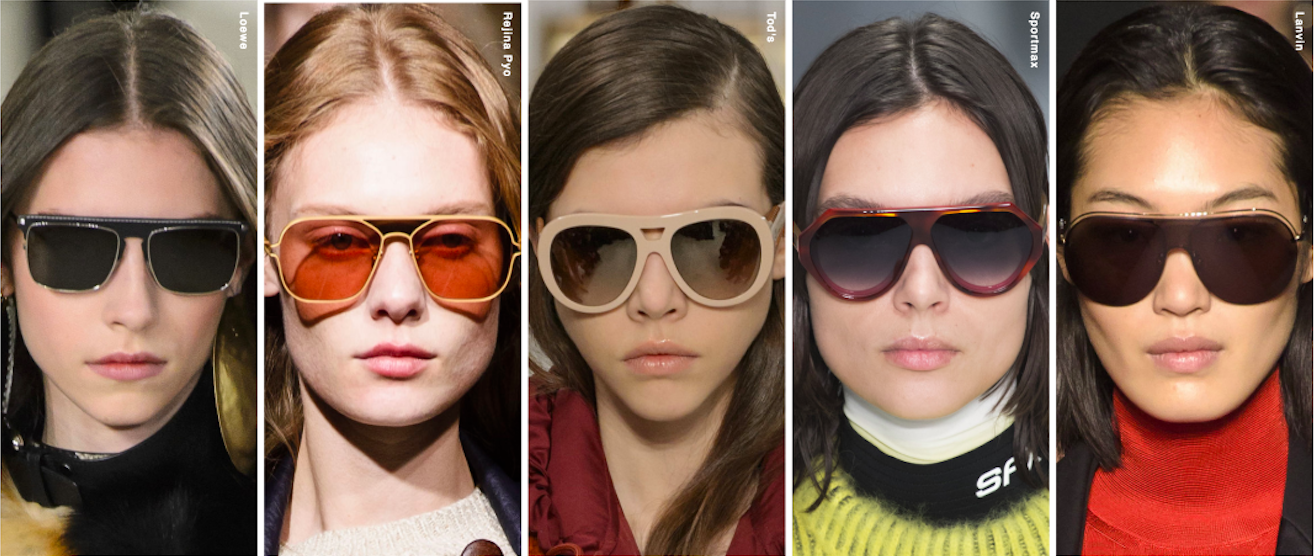 12 Latest Fashion Trends for Women's Eyewear for A/W 2019 Shop Buy Designer Cool Eyeglasses