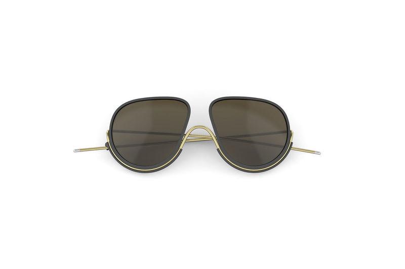 Lily Cole's Latest Sustainable Eyewear Brand, Wires London Selfridges Sustainable Metal Glasses Eyewear